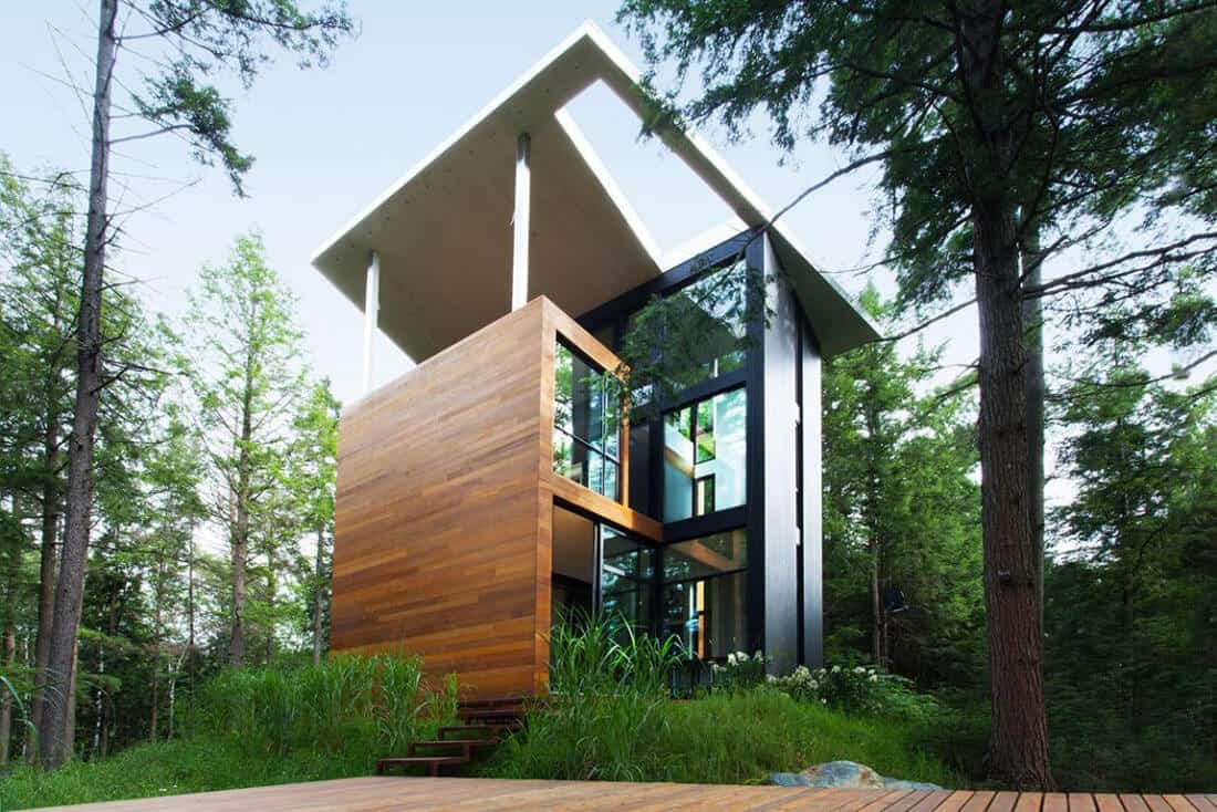 Private Residence by YH2 in Québec, Canada -canada