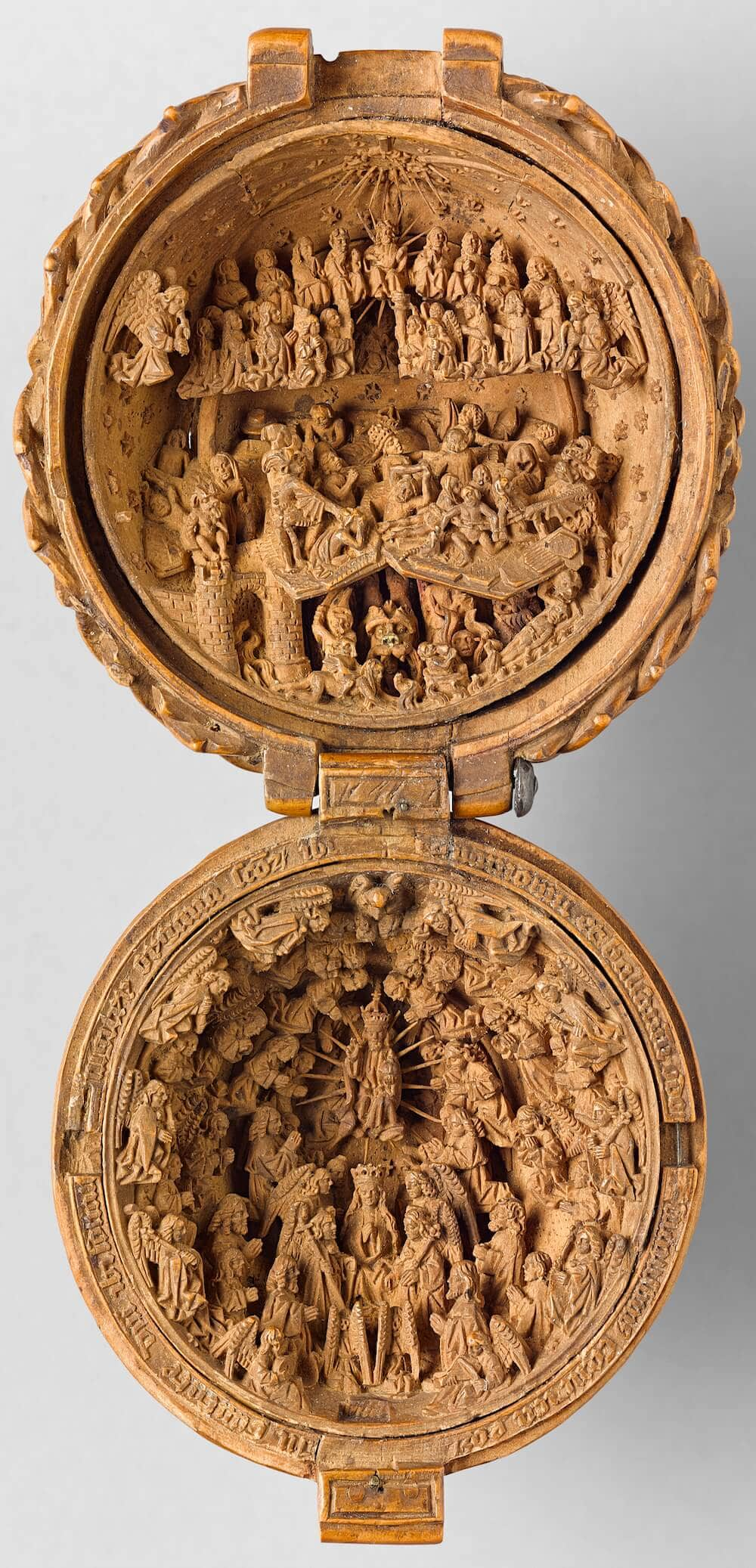 16th Century Tiny Boxwood Carvings That Fit in Your Hand -wood carving, wood, carving