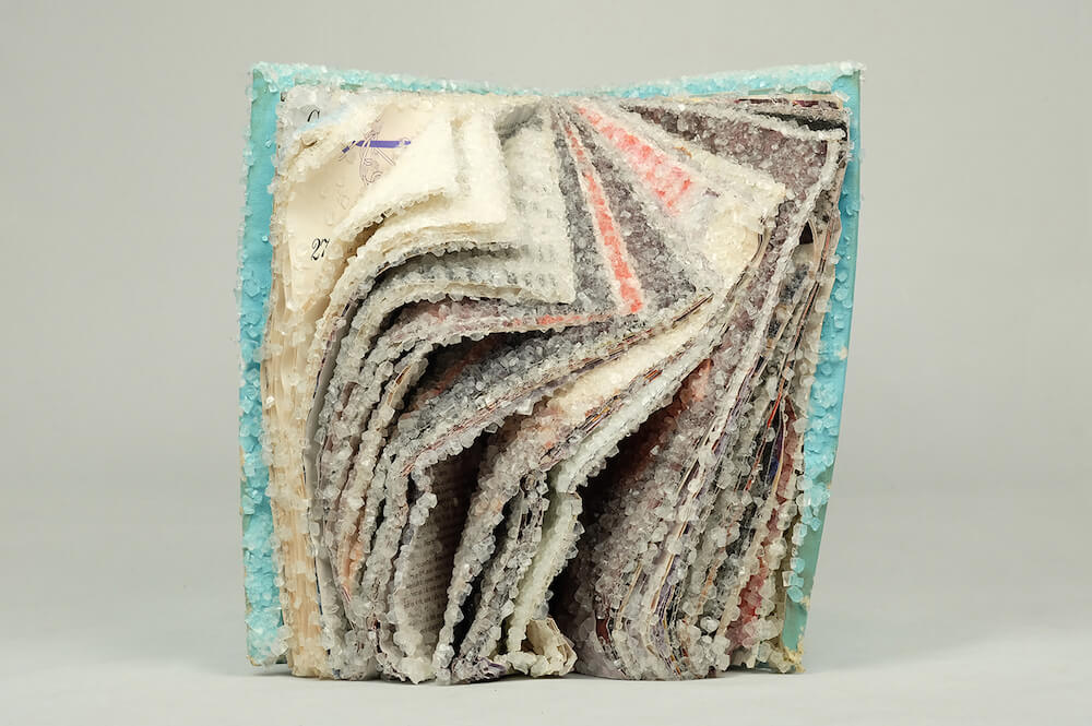 AlexisArnold16 06 - Artist Alexis Arnold Transforms Old Magazines Into Crystallized Sculptures