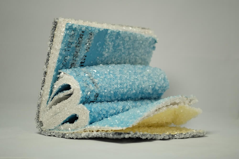 AlexisArnold16 07 - Artist Alexis Arnold Transforms Old Magazines Into Crystallized Sculptures