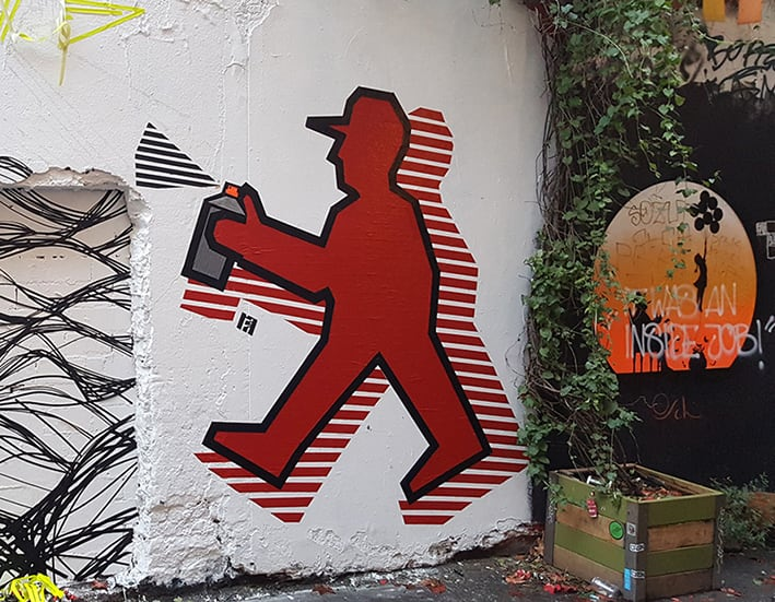 TAPE ART - Art made out of sticky tape by Ostap & SELFMADECREW -street art, artist
