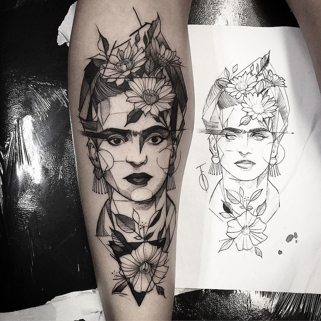 29 Tattoos Inspired by Famous Masterpieces -tattoo