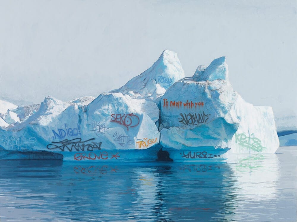 Josh Keyes's Thoughtful Paintings of a Graffiti-Covered Earth -