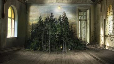 Artist Creates Photomontages That Trace Light Through Wild Abandoned Interiors