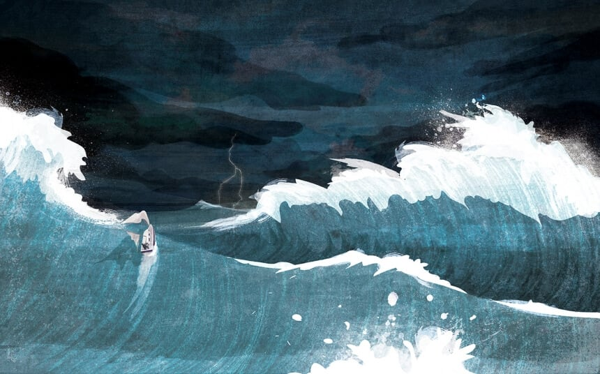 Kerry Hyndman Illustrates Inspiring real-life stories From the Wild and Beyond Survivors -