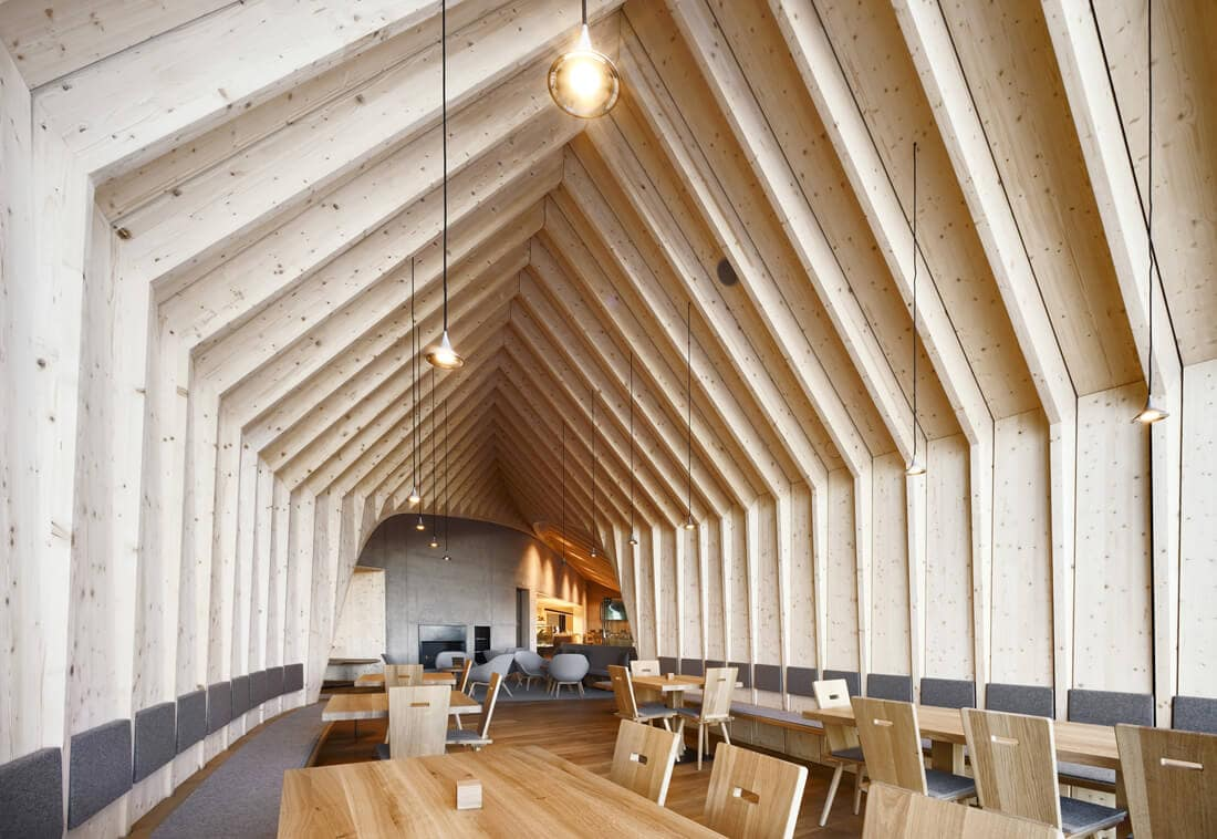"""Oberholz Mountain Hut"" Restaurant In The Italian Alps -"