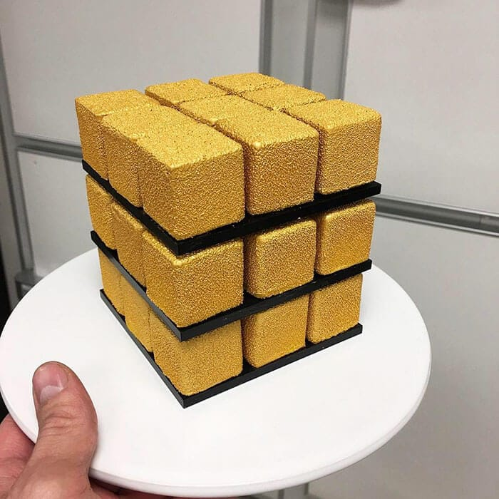 rubiks cube cake pastry cedric grolet 21 - Geometric Cakes Created By One Of The Best Pastry Chefs In Europe