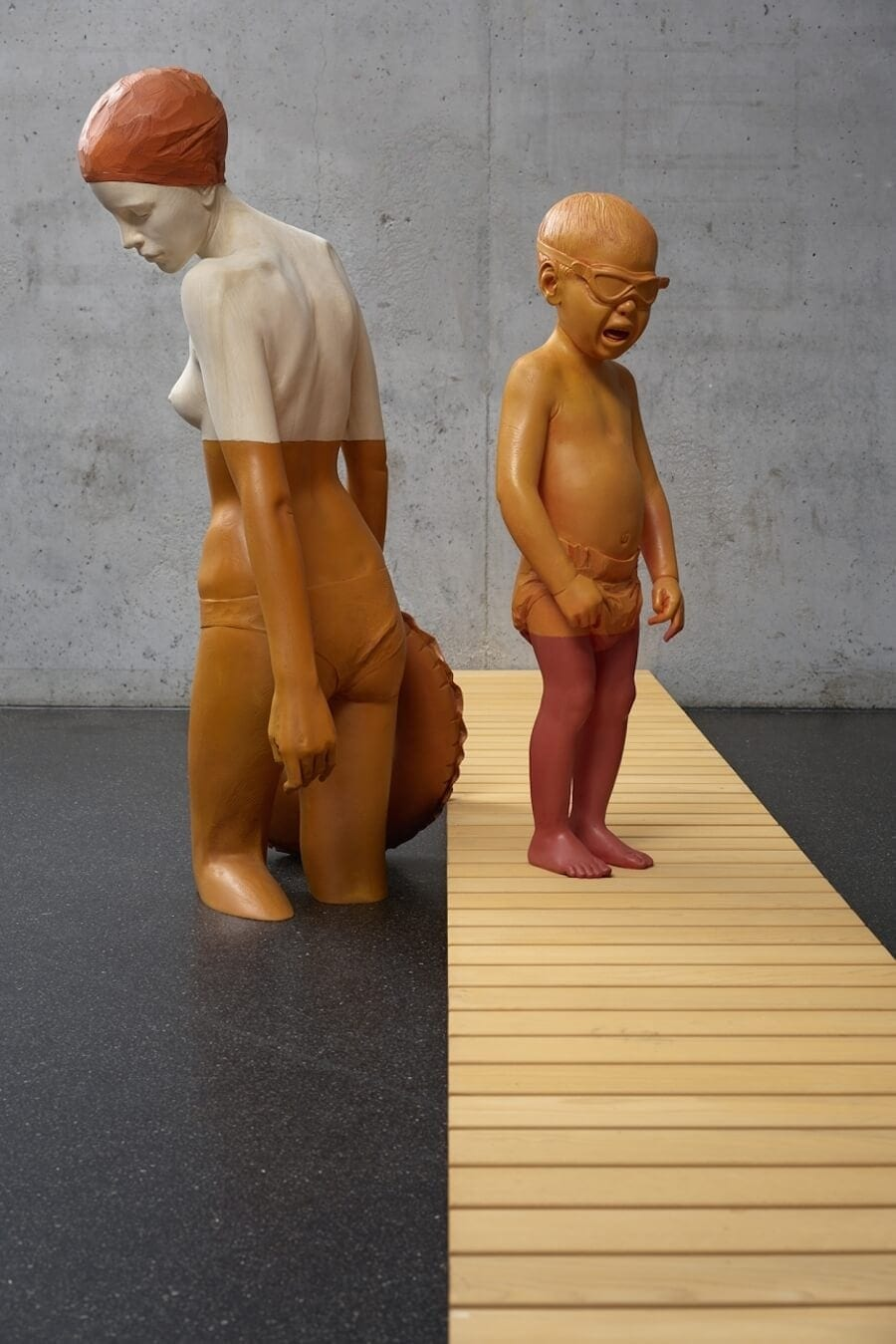 Wood Sculptures That Highlight Environmental Waste by Willy Verginer -