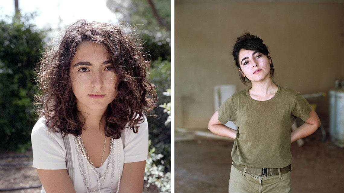 Gorgeous Photos Of Israeli Girls Before And After 5 Years -