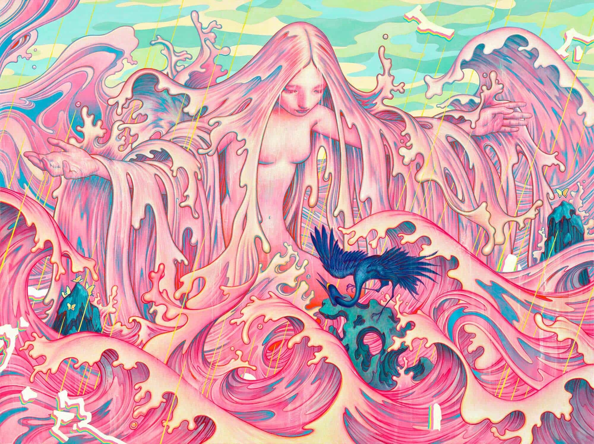 Mind-Melting Artwork by James Jean -paintings, illustrations