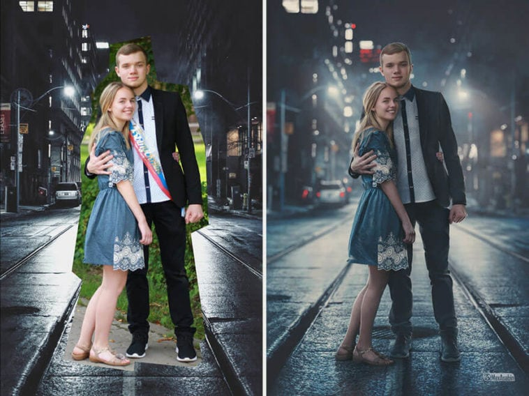 This Guy Seamlessly Blends Any Two Photos into One -