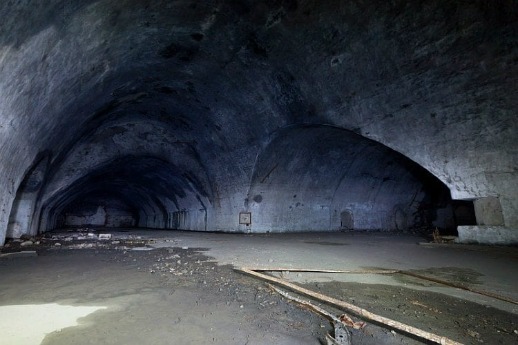 zeljava millitary base 2 - Eerie Photos Of Europe's Largest Underground Military Base Forgotten By Time