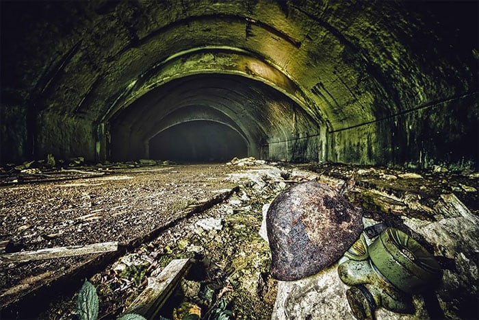 zeljava millitary base 4 - Eerie Photos Of Europe's Largest Underground Military Base Forgotten By Time