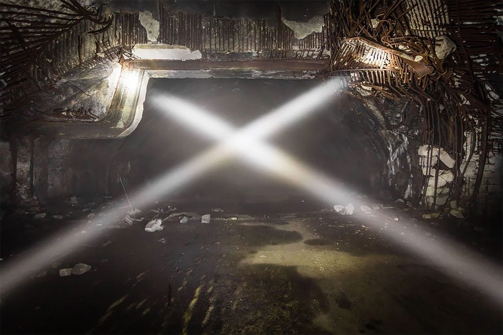 Eerie Photos Of Europe's Largest Underground Military Base Forgotten By Time -