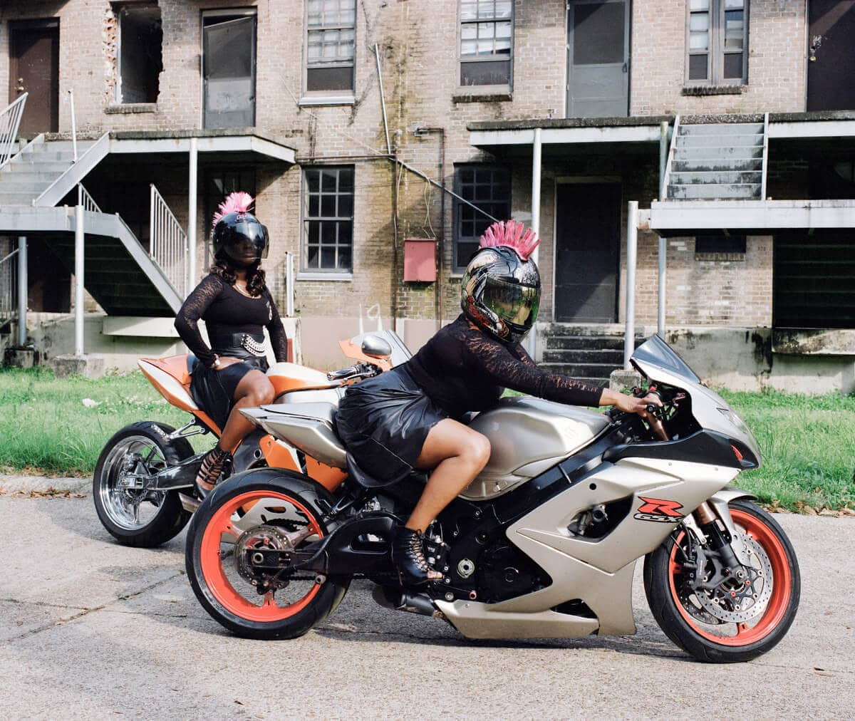 Epic Photos Of New Orlean's Ladies-Only 'Caramel Curves' Biker Gang -