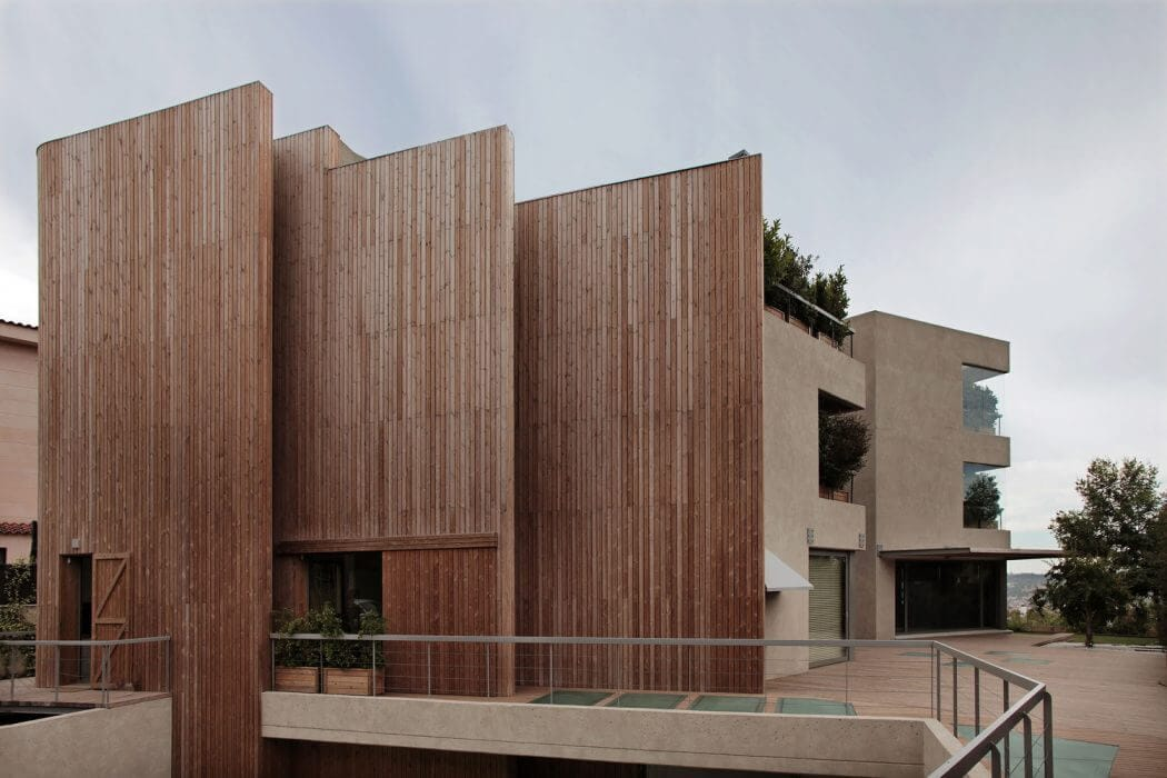 bc estudio 3 - A Family House Overlooking Barcelona By BC Estudio