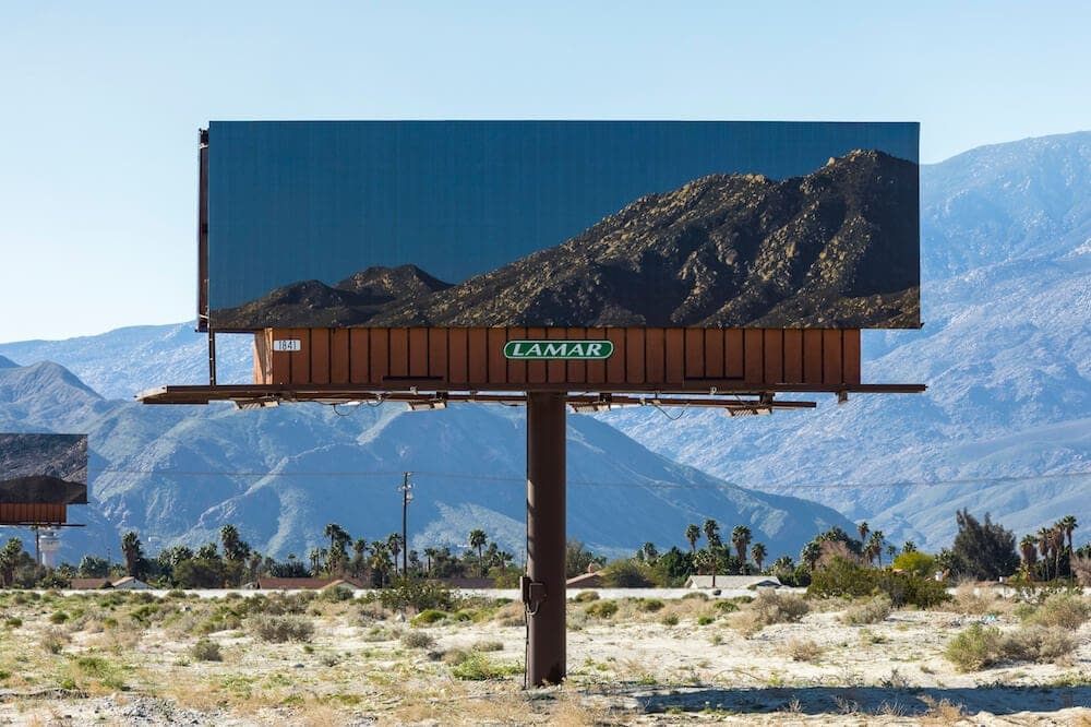 Jennifer Bolande's Billboards That Promote the Surrounding California Scenery -