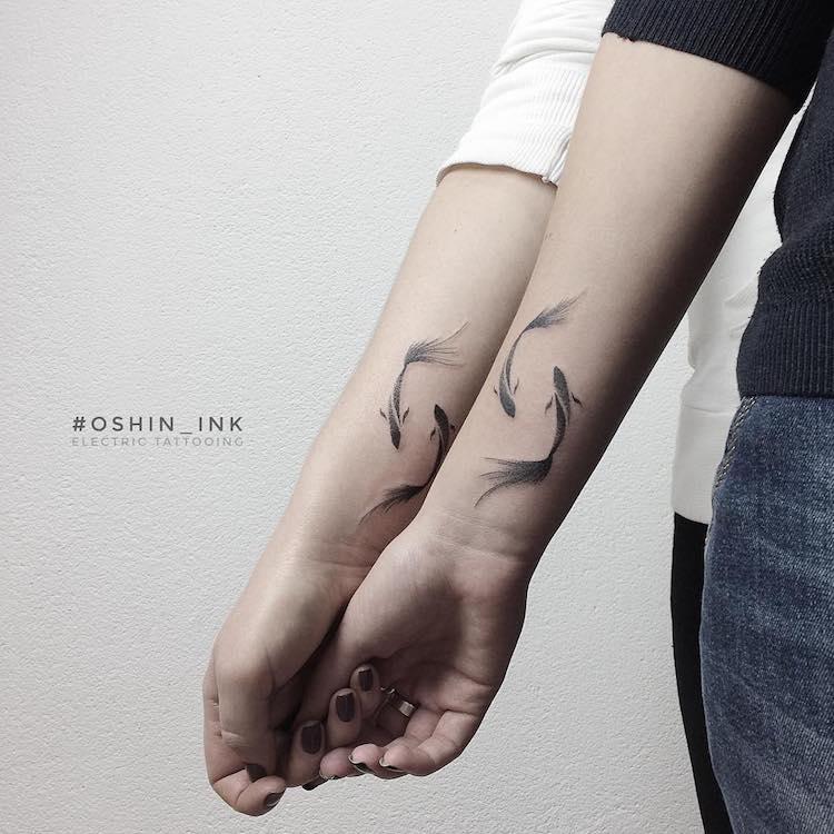 Ukranian Artist Creates Beautiful Tattoos as Constant Reminders of Nature's Beauty -