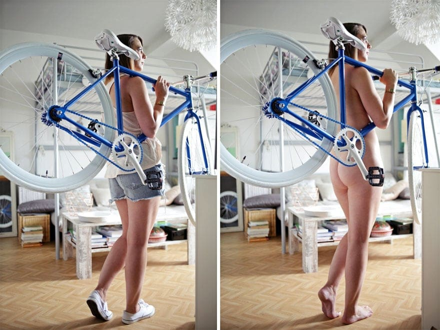 German Photographer Photographs Real People Doing Everyday Tasks Without Clothes (NSFW) -