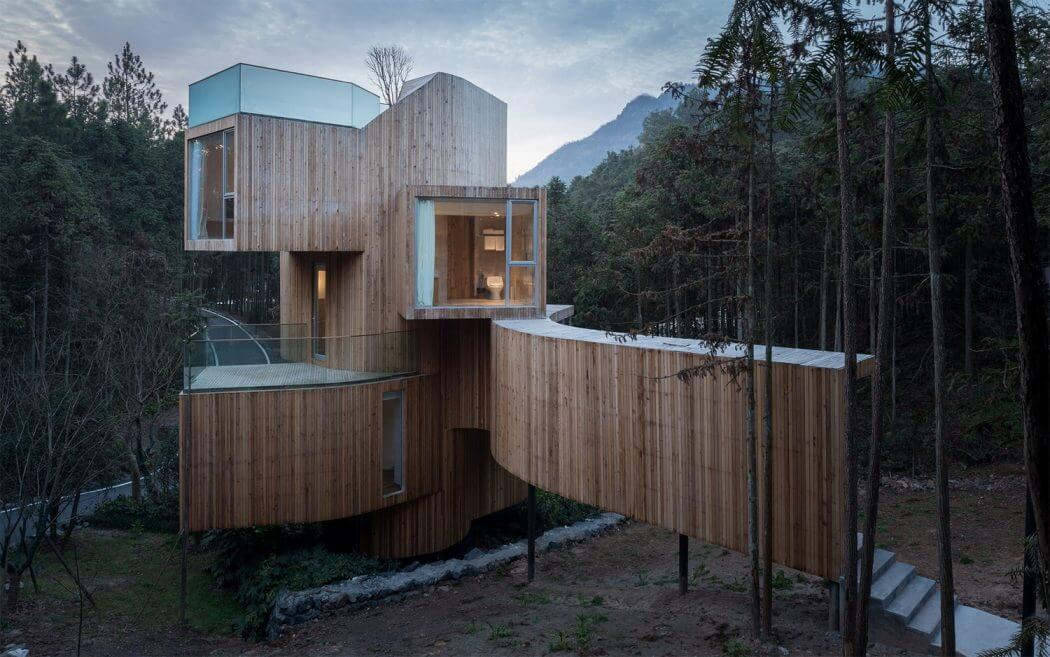 Stacked Country Hotel In China By Bengo Studio -