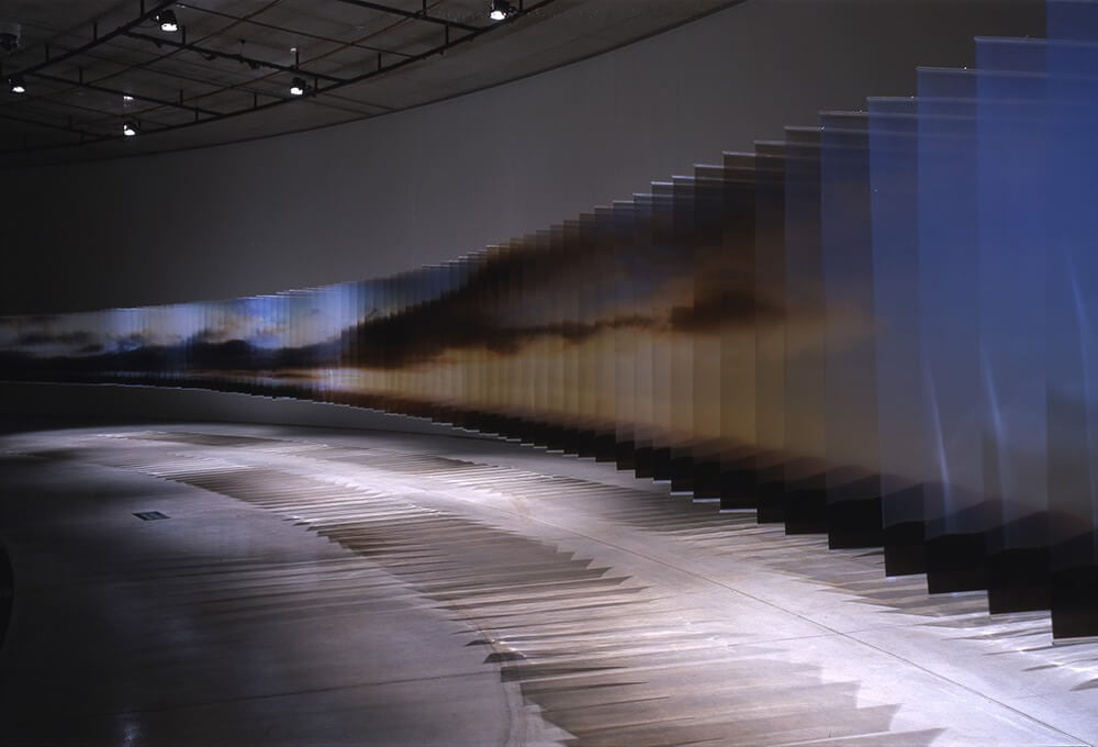 3D Landscapes Formed with Layered Acrylic Prints by Nobuhiro Nakanishi -