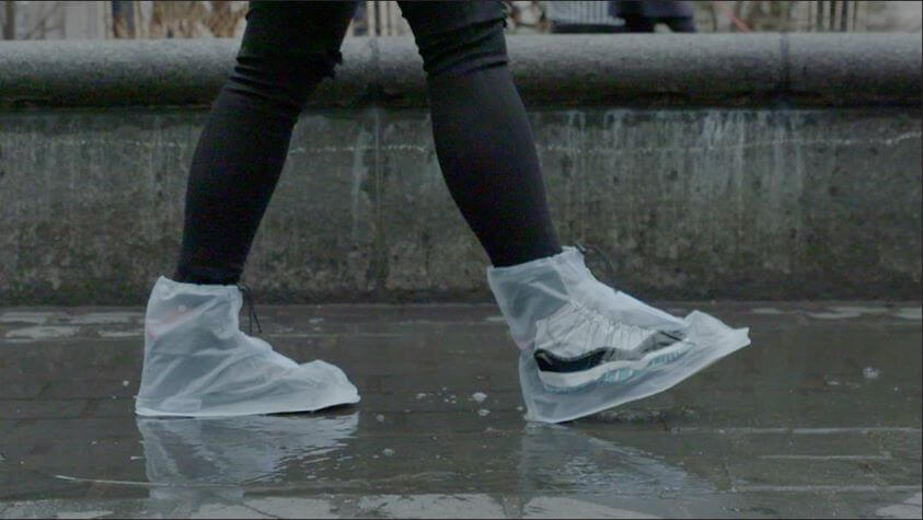 Dry Steppers Are Protection For Your Fancy Sneakers -
