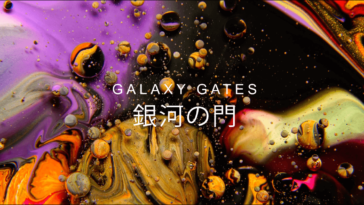 galaxy gates fy 4fgg 364x205 - A Mix of Paint, Soap, and Oil Form an Astonishing Galaxy of Aqueous Visuals