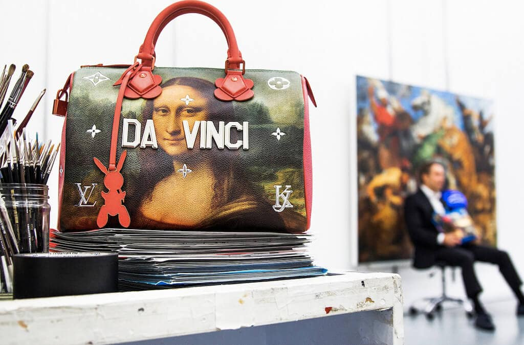 Iconic Paintings on Bags from New Collection of Lous Vuitton -