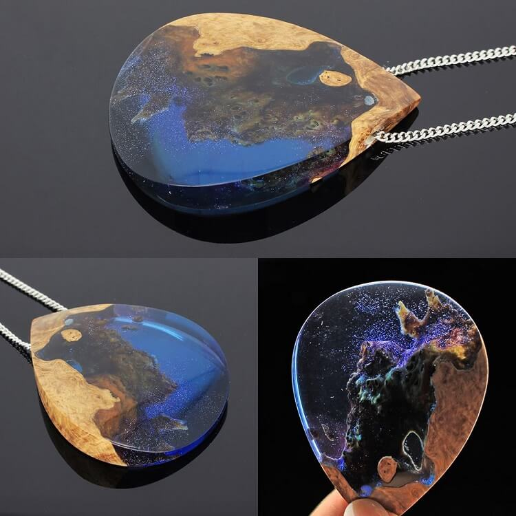 miha debeljak resin jewelry 1 - Glorious Resin Jewelry Encapsulate the Majestic Beauty of the Real World