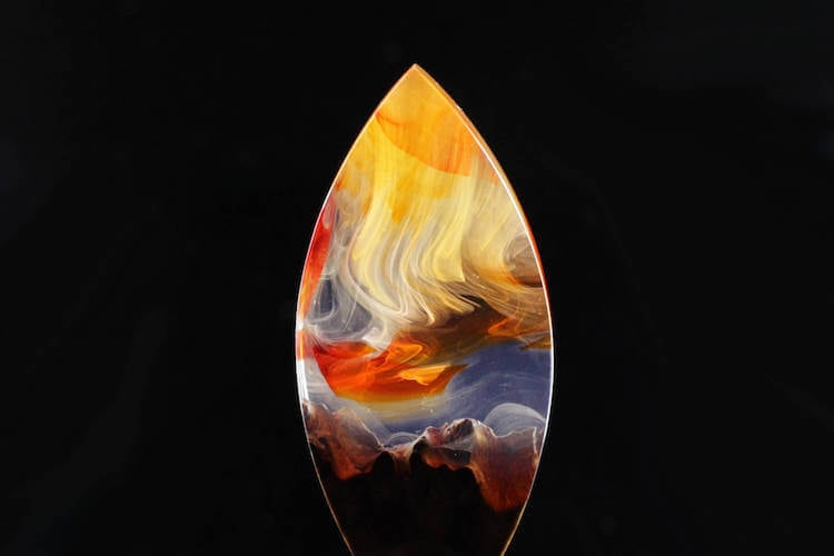 miha debeljak resin jewelry 13 - Glorious Resin Jewelry Encapsulate the Majestic Beauty of the Real World