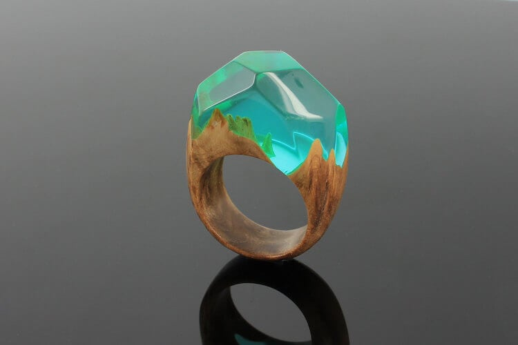 miha debeljak resin jewelry 17 - Glorious Resin Jewelry Encapsulate the Majestic Beauty of the Real World