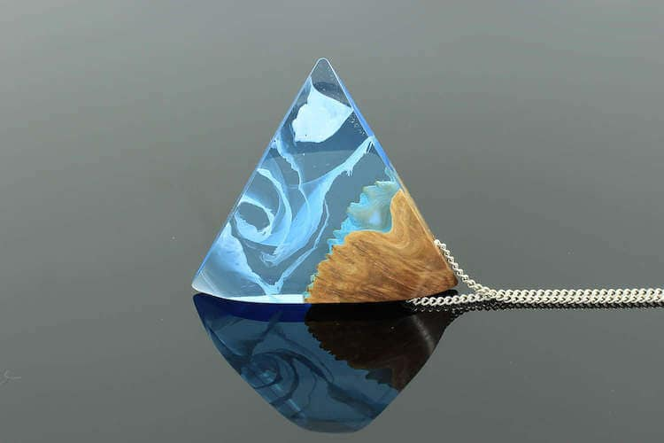 miha debeljak resin jewelry 18 - Glorious Resin Jewelry Encapsulate the Majestic Beauty of the Real World