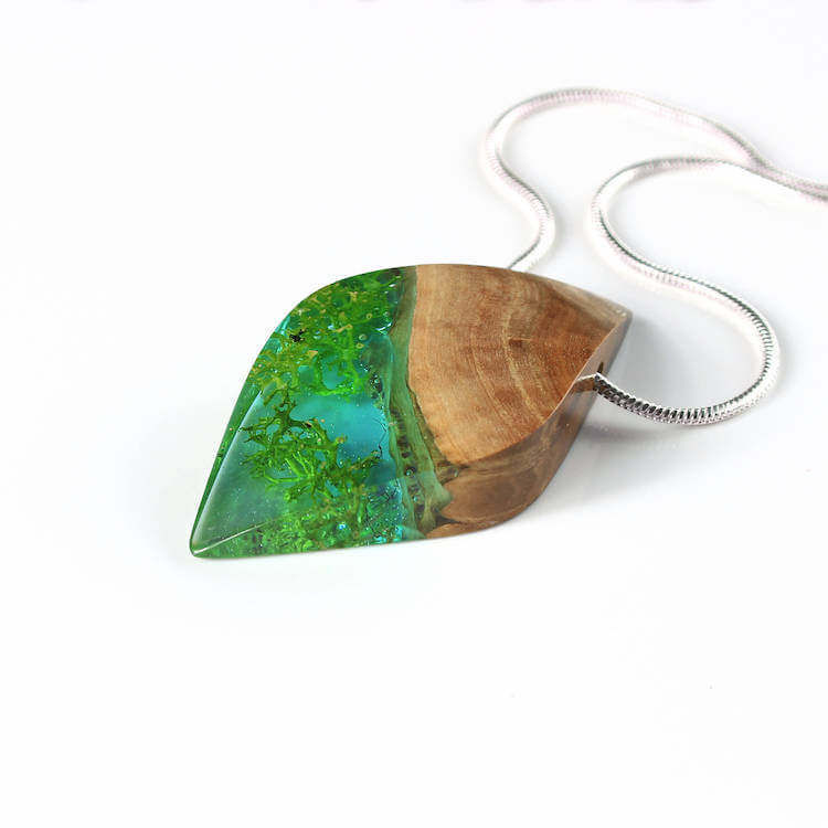 miha debeljak resin jewelry 20 - Glorious Resin Jewelry Encapsulate the Majestic Beauty of the Real World