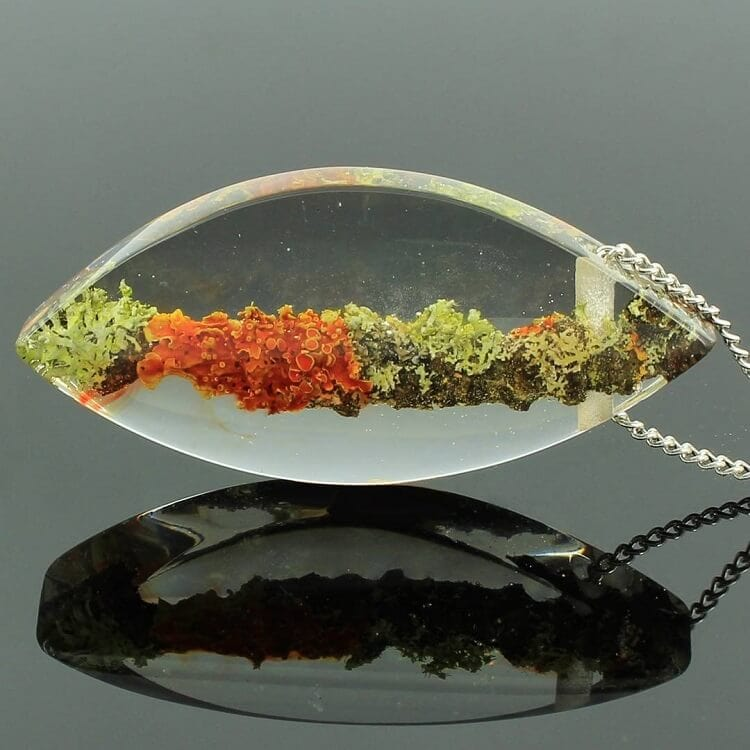 miha debeljak resin jewelry 4 - Glorious Resin Jewelry Encapsulate the Majestic Beauty of the Real World