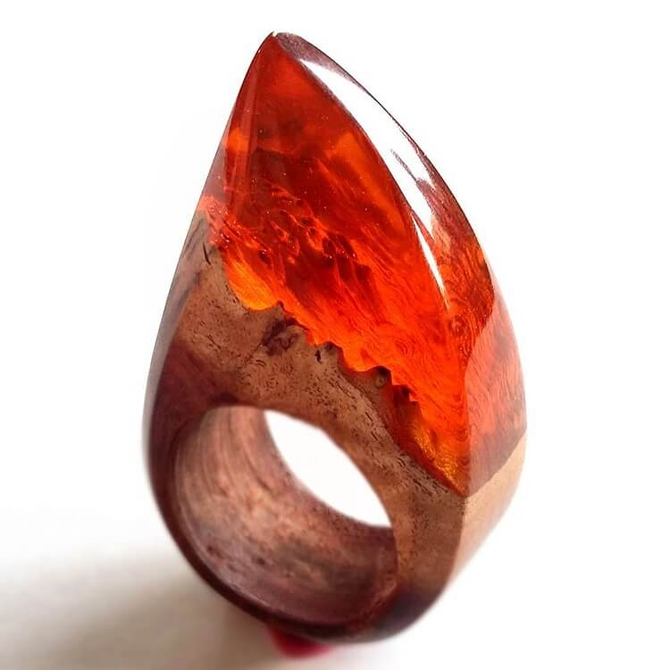 miha debeljak resin jewelry 7 - Glorious Resin Jewelry Encapsulate the Majestic Beauty of the Real World