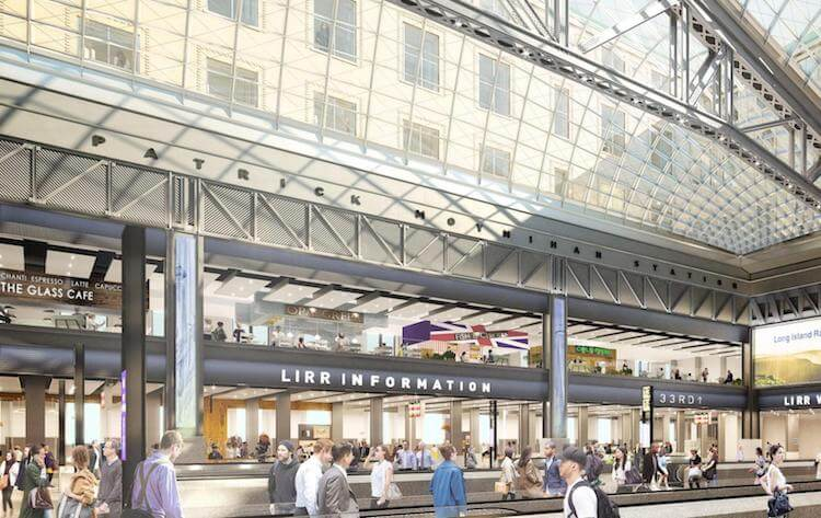 NY's Penn Station $1.6 Billion Beautiful Expansion Revealed -