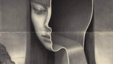 Dark Graphite Portraits by Miles Johnston -SKETCH, pencil, paintings, london, graphite, black n white, black and white