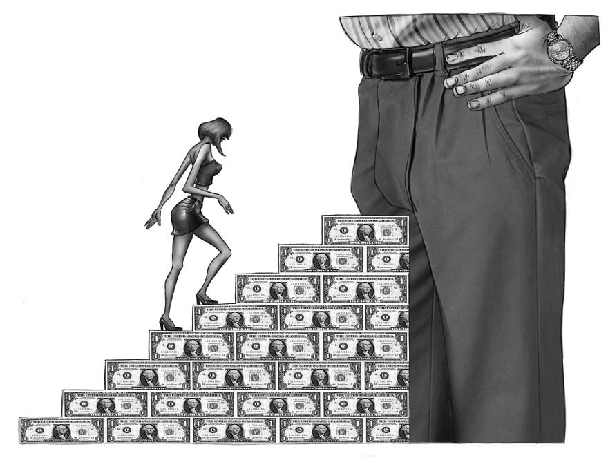 Artist Depicted What's Wrong With Society Today In These Thought-Provoking Illustrations -