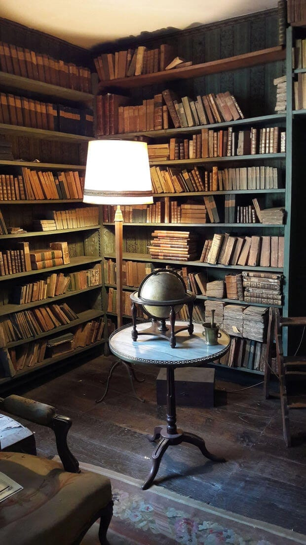 Gorgeous 200-Year-Old Library Found For The First Time -
