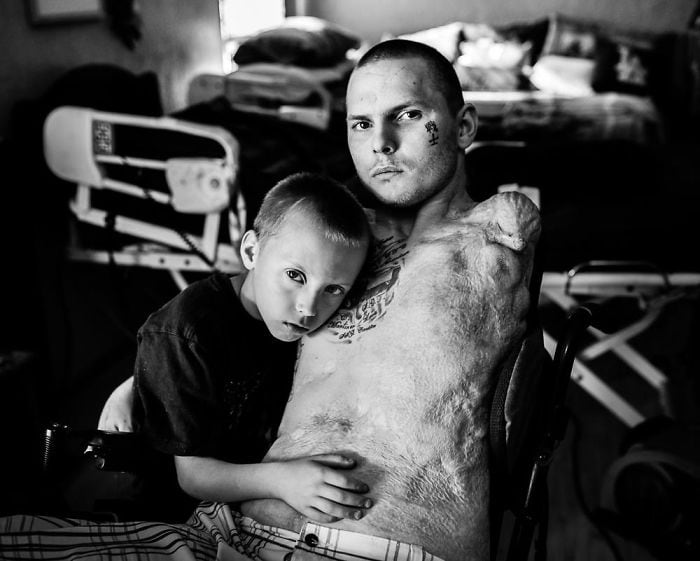 Striking Photos Of U.S. Veterans Who Survived A Decade Of War In The Middle East -