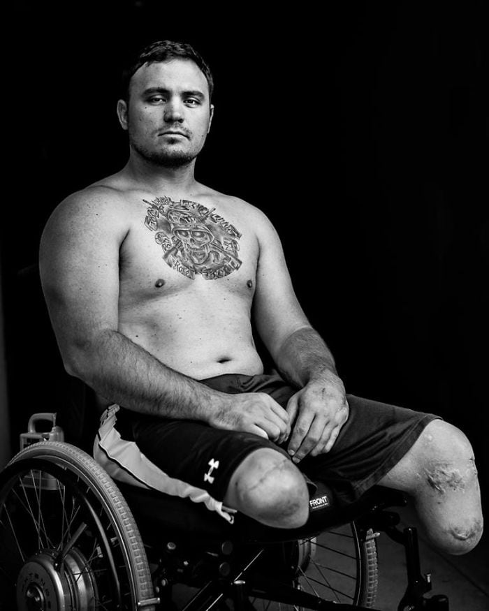 veterans portraits david jay james nachtwey usa 21 - Striking Photos Of U.S. Veterans Who Survived A Decade Of War In The Middle East