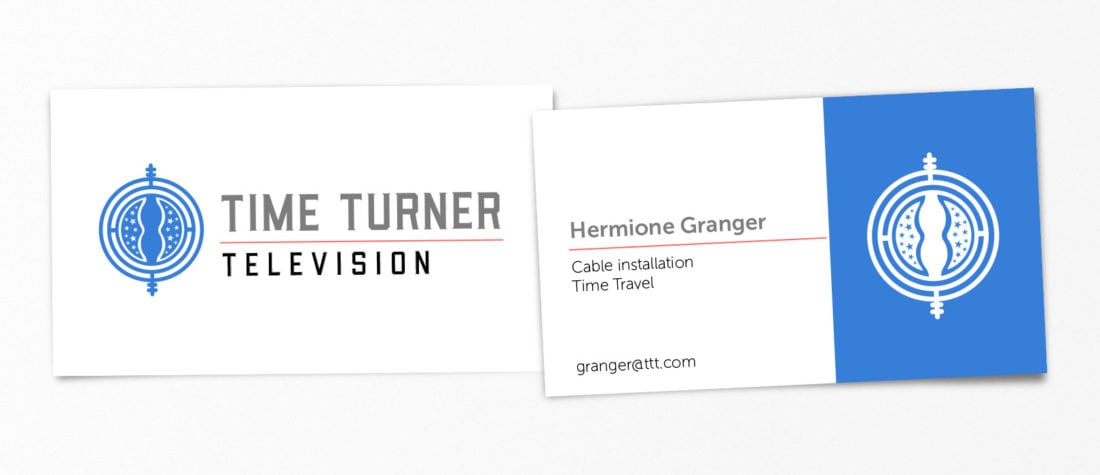Hermione Grange Harry Potter 1100x475 - Real Life Business Cards Of Your Favorite Pop Culture Characters