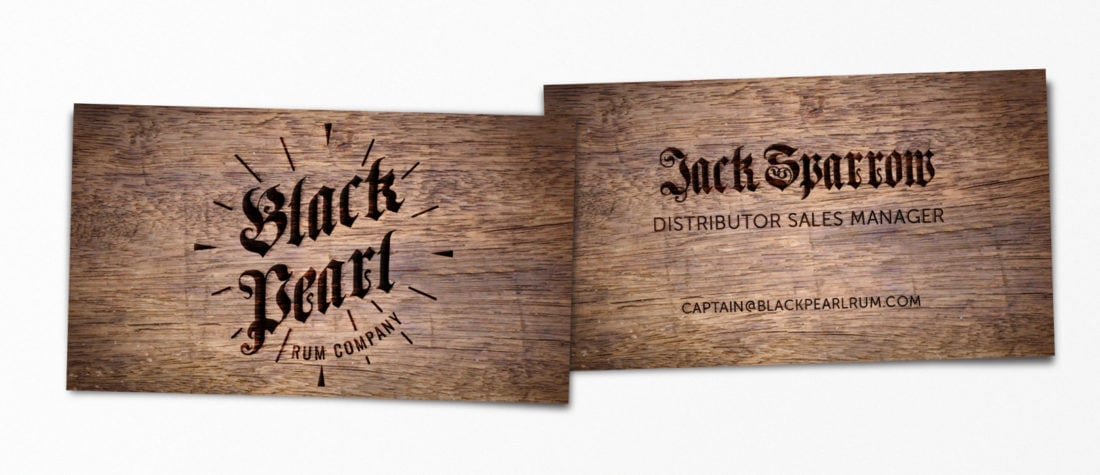 Jack Sparrow Pirates of The Carribean 1100x475 - Real Life Business Cards Of Your Favorite Pop Culture Characters