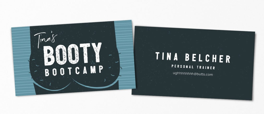 Tina Belcher Bob Burgers 1100x475 - Real Life Business Cards Of Your Favorite Pop Culture Characters