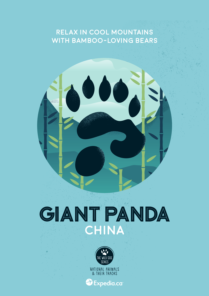 The World's Most Awe-Inspiring National Animals, Illustrated -travel, posters, illustrations