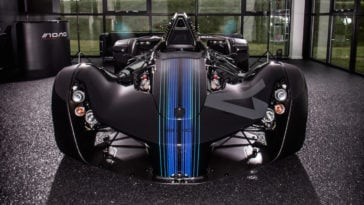 BAC Teams Up with Autodesk to Built Mono Single-Seater Art Car -car