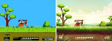 This Artist Transforms Old Nintendo Games With A 21st-century Facelift -
