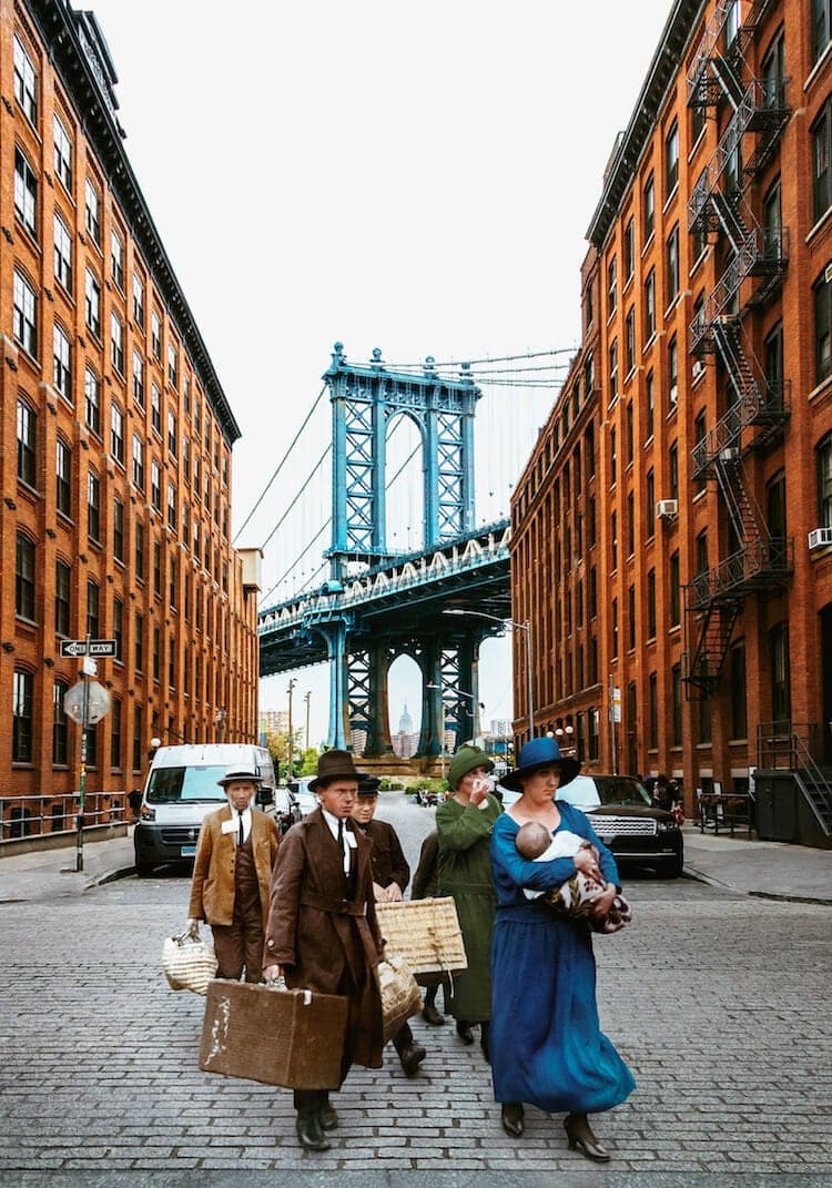 What If Early 1900s Settlers Arrived in Modern-Day NYC -