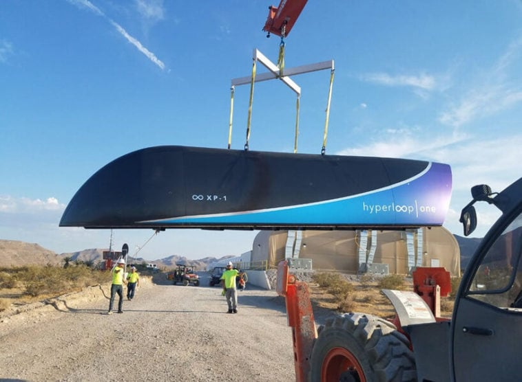 hyperloop fy 1 758x556 - Hyperloop One Launches Prototype in First Full-Scale test
