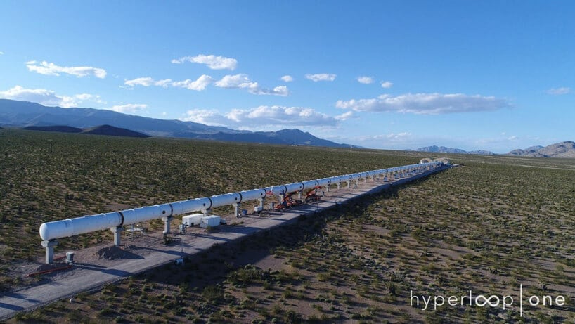 hyperloop fy 2 - Hyperloop One Launches Prototype in First Full-Scale test